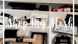Shop My Stash | My Current Makeup Drawer 10/8/18