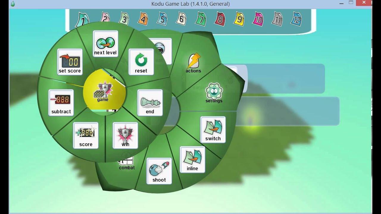 Kodu Game Lab - Basic Teleporting - YouTube