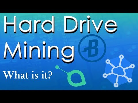 What Is Hard Drive Mining? (Burst, Sia, Storj)