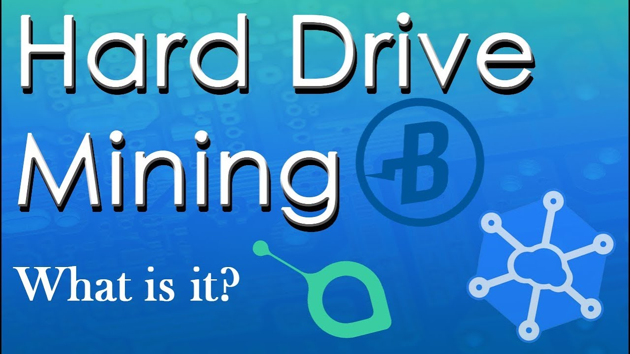 Aio Miner what is hard drive mining? (burst, sia, storj)