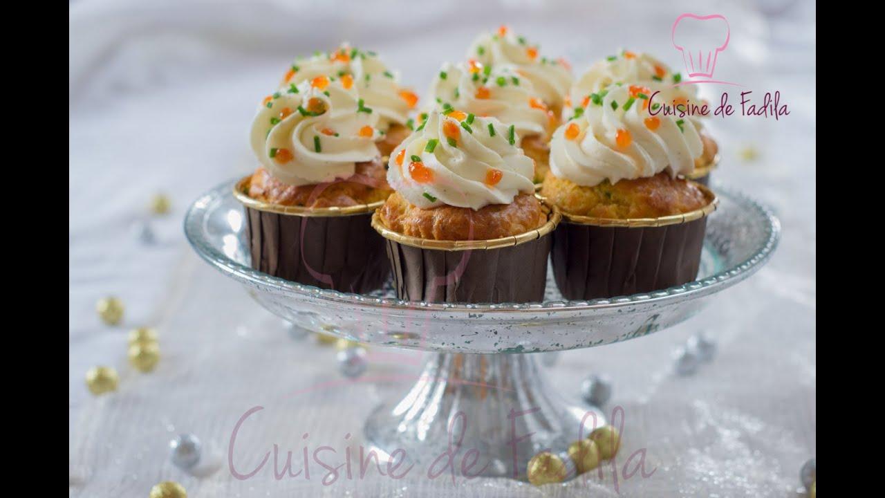 Cupcakes au saumon fum youtube for Video de cuisine youtube