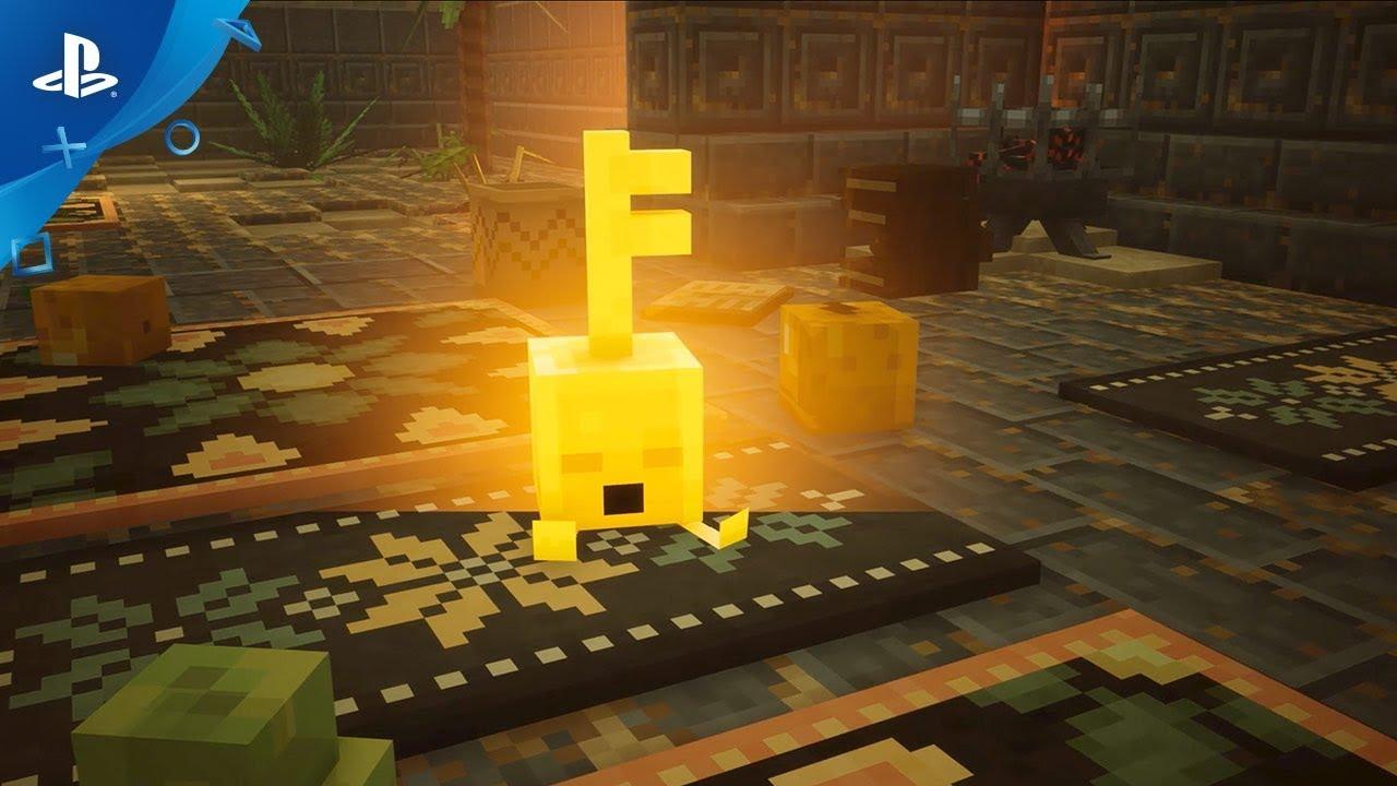 minecraft dungeons e3 2019 gameplay reveal trailer. Black Bedroom Furniture Sets. Home Design Ideas
