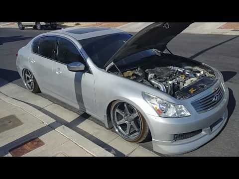 Infiniti G37 sedan motor swap - YouTube