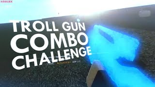 THE TROLL GUN COMBO CHALLENGE in PHANTOM FORCES (ROBLOX)