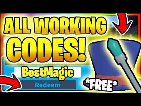ALL *NEW* SECRET OP WORKING CODES! Roblox Magician Simulator