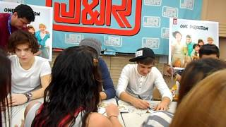 Meeting One Direction!! NYC Signing/ Meet & Greet at J & R Music World 3.12.12.