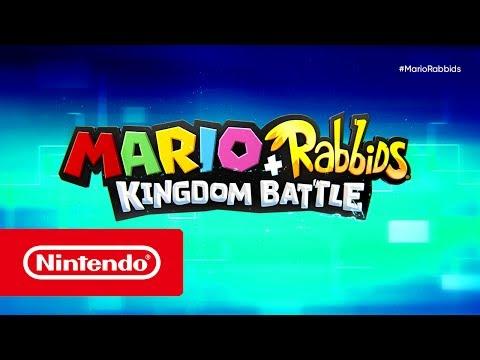 Mario + Rabbids Kingdom Battle - Tráiler del E3 2017 (Nintendo Switch)