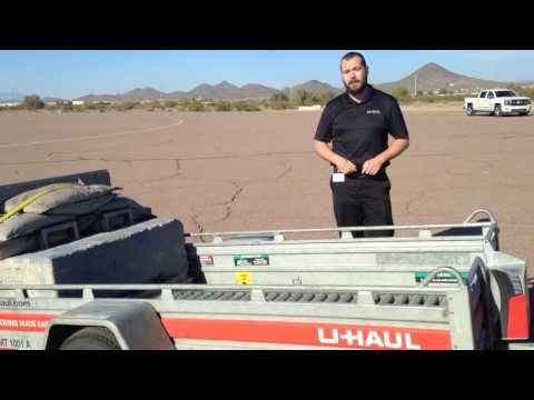 How To Properly Tow A U-Haul Trailer