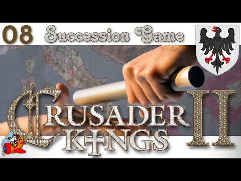 Crusader Kings 2 Succession Game [ITA] 8 - Rotolando verso sud