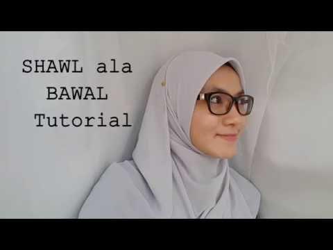 Shawl style Bawal tutorial