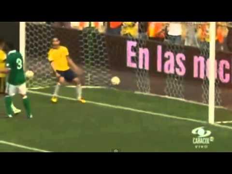 GOOOL Radamel FALCAO(Colombia) Vs Bolivia (4-0