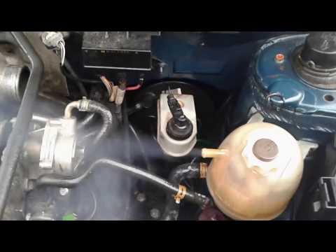 Прорыв картерных газов в систему охлаждения. Прокладка ГБЦ renault megane 1,9D