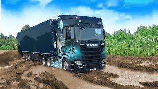 Трасса Ельнино - Боровое - Карта из Дальнобойщики 2 в Euro Truck Simulator 2