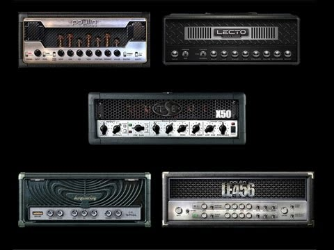 Best 5 Metal Amp simulators - Test