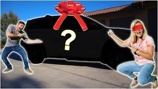 SURPRISING HER WITH HER DREAM CAR!