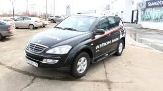 2013 Ssangyong Kyron Luxury. Start Up, Engine, and In Depth Tour.