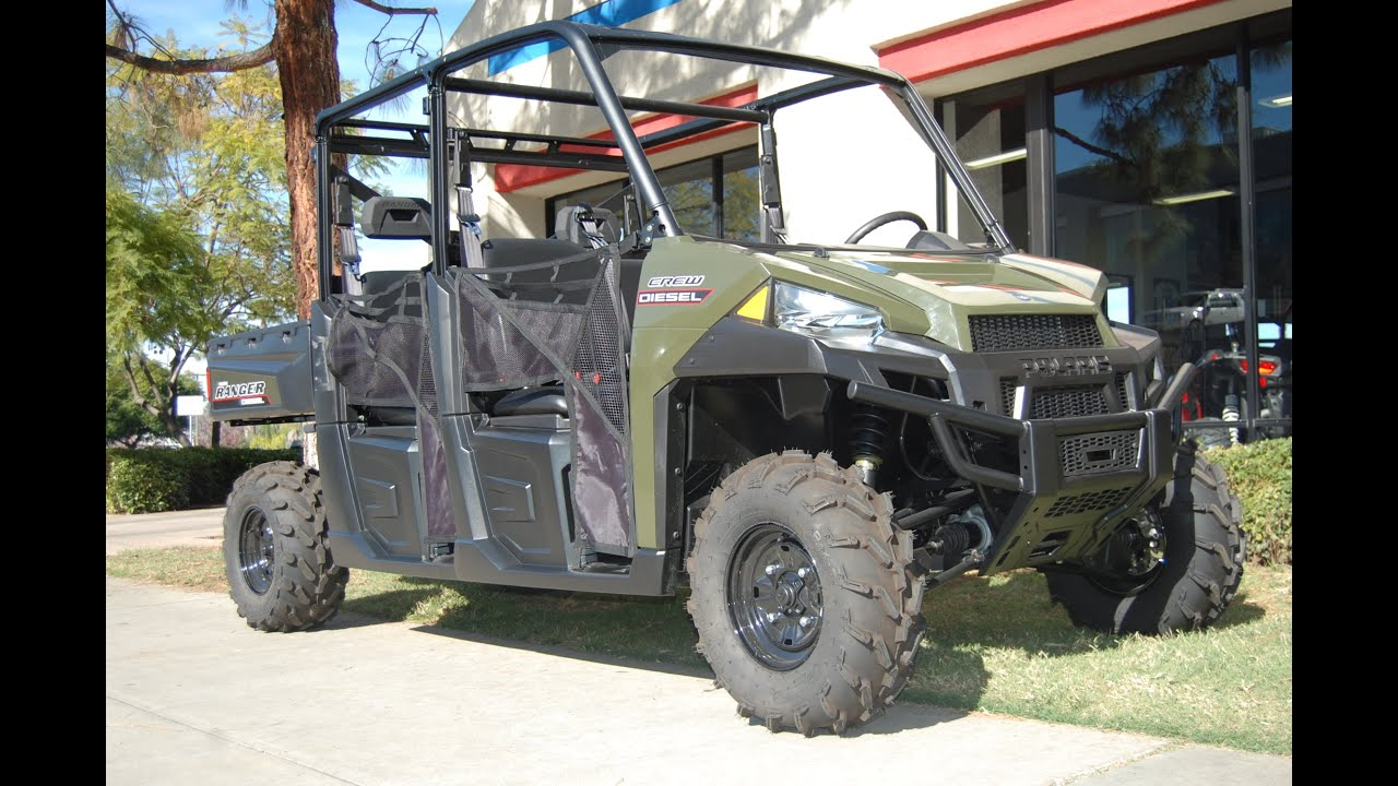 2015 Polaris Ranger >> 2015 Polaris Ranger Crew Diesel Youtube