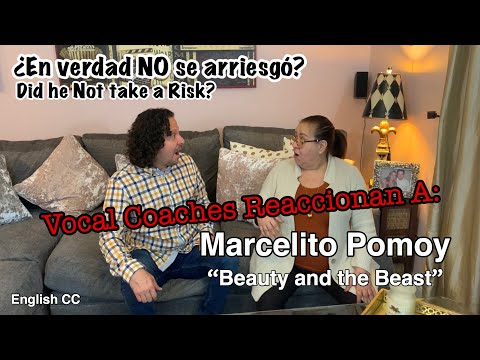 Vocal Coaches Reaccionan a Mercelito Pomoy | Beauty and the Beast