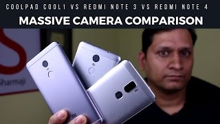 Massive Camera Comparison Redmi Note 4 vs Redmi note 3 vs Coolpad Cool1