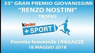 55° GPG Trofeo Kinder +Sport - III GIORNATA - FF Ragazze
