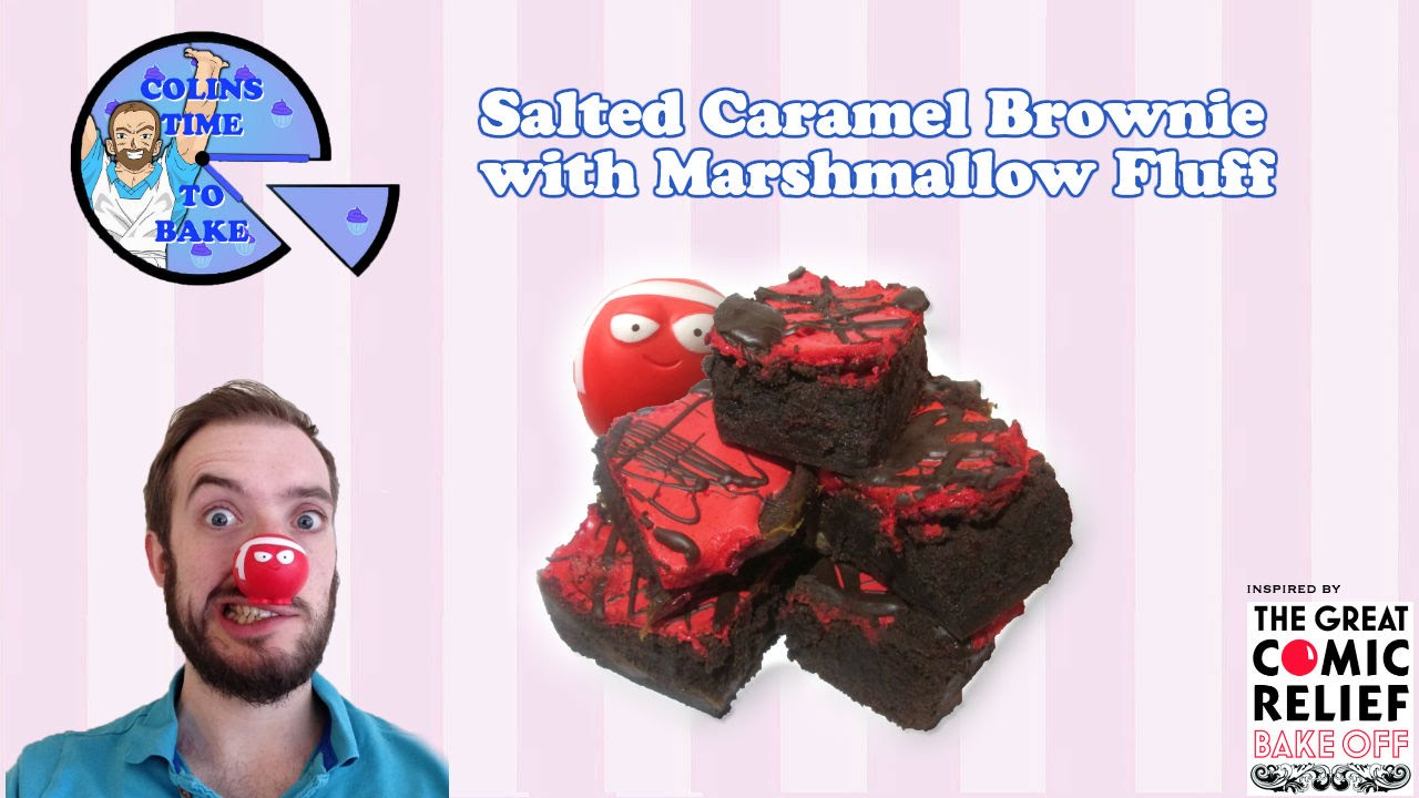 Salted Caramel Brownies | Baking with the Comic Relief ...