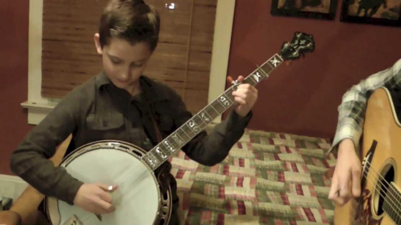 10 Year Old Jonny Mizzone Sleepy Man Banjo Boys