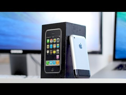 Retro Unboxing vom allerersten iPhone! - felixba