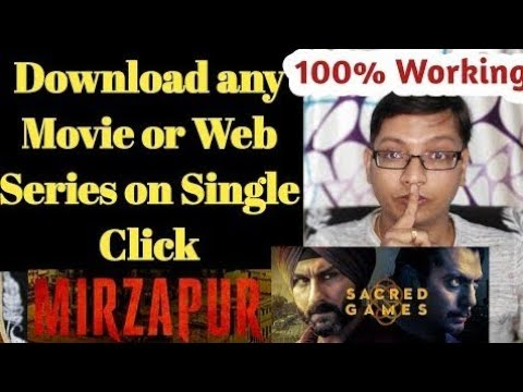 download NETFLIX sacred game web series all episodes free|| live proof of downloading #1