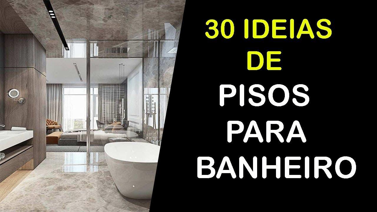 30 Ideias De Piso Para Banheiro 2018 2019