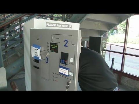 Northampton parking garage to accept credit, debit cards