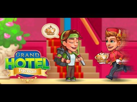 Grand Hotel Tycoon: 호텔 경영 게임 홍보영상 :: 게볼루션