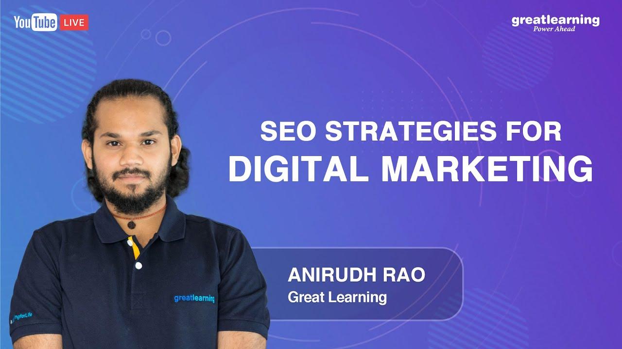SEO strategies for Digital Marketing | Digital Marketing Tutorial for Beginners