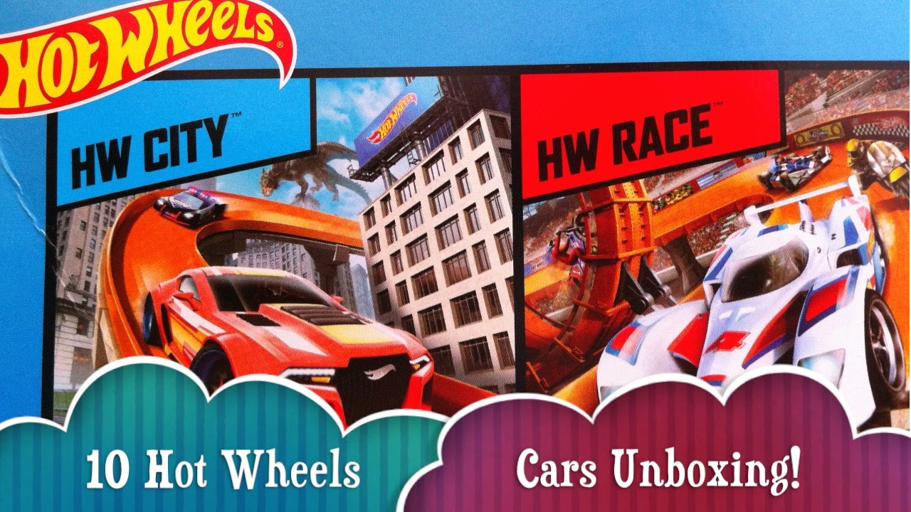 Hot Wheels Toy Diecast Cars Including Classic Muscle Cars