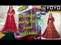 Buy Designer suits review from yoyo Fashion|party wear Anarkali dress review|anarkali suit online