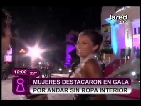 Mujeres destacaron en la gala por andar sin ropa interior for Chicas guapas en ropa interior