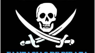 Fantasia de piratas - Azul Y Negro Clip