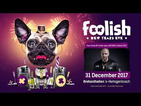 DJ Paul Elstak @AIRFORCE Festival Foolish stage