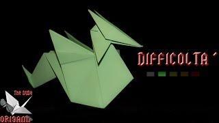 [ORIGAMI ITA] Drago Facile (Emilson Nunes Dos Santos) || Origami Decorativi/Animali/Semplici