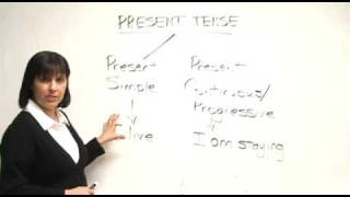 English Grammar – Present Simple & Present Progressive