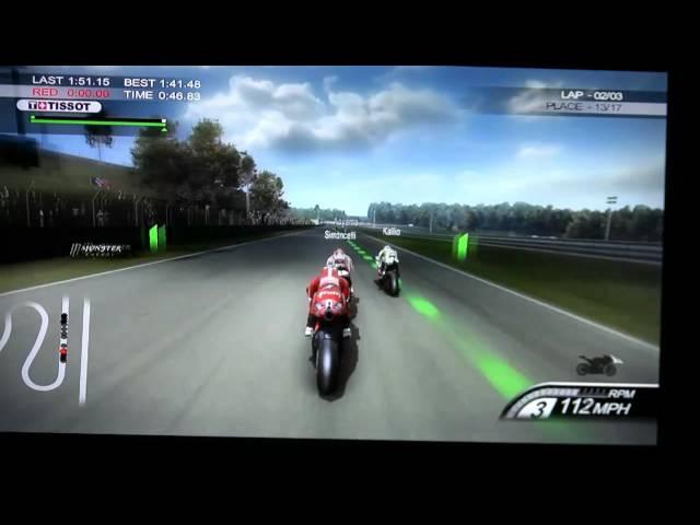 Moto GP 10/11 World Championship mode - MarsVG.com