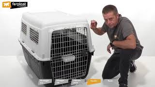 Контейнер-переноска Ferplast ATLAS 80 PROFESSIONAL для крупных собак