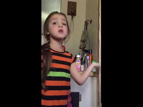 Little girl scolds her daddy on Father's Day Goes Viral!