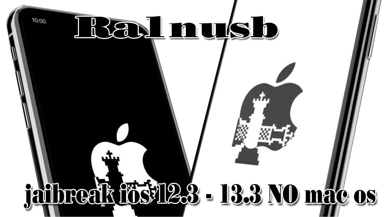 cách jaibreak ios 12.3 – 13.3 không cần mac OS Ra1nUSB Final Checkrain Jailbreak Window