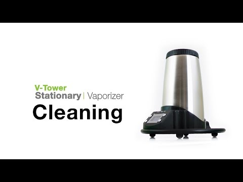 Arizer V-Tower Vaporizer Cleaning Tips