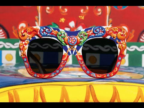 Dolce & Gabbana sizilianische Carretto Brillenkollektion