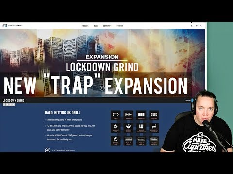 New Maschine Expansion - Lockdown Grind (UK Drill) - TRAP