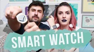 Smart Watch vale a pena? Apple Watch + LG Urbane 2 (android) - Karen Bachini  + Saulo Nogueira