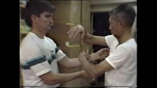 Wing Chun 's Chi Sau -  Chu Shong Tin 1991