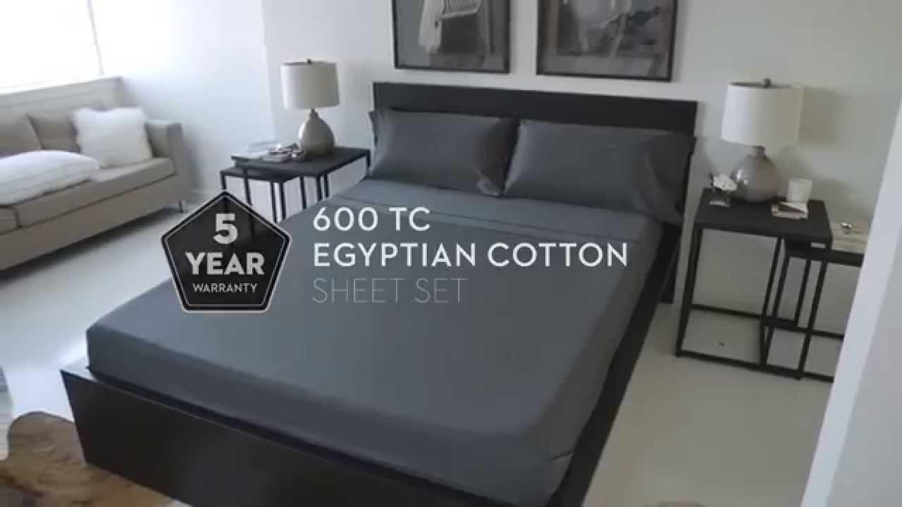 600 tc egyptian cotton sheets by malouf
