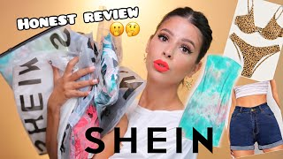 HUGE SHEIN CLOTHING TRY ON HAUL... honest review!